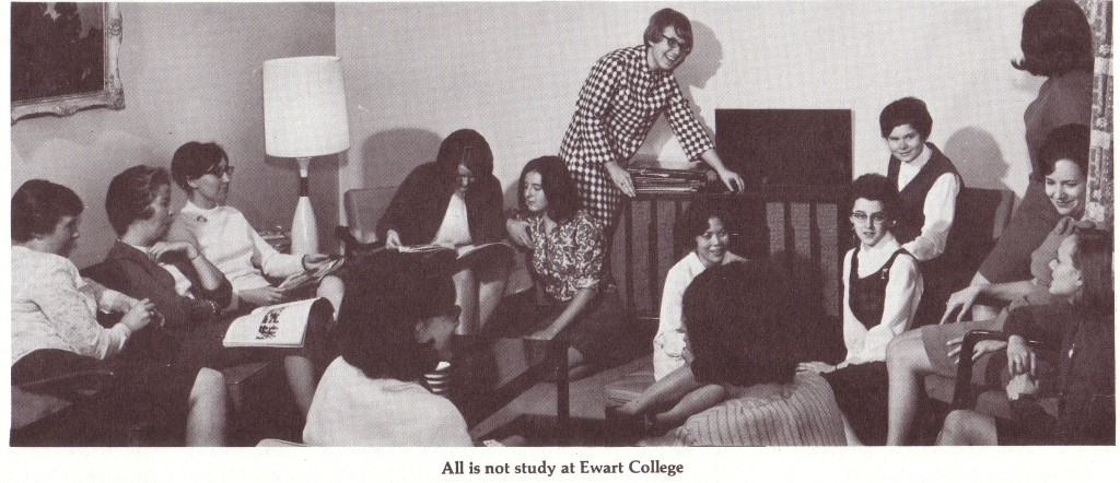 All is not study at Ewart College.