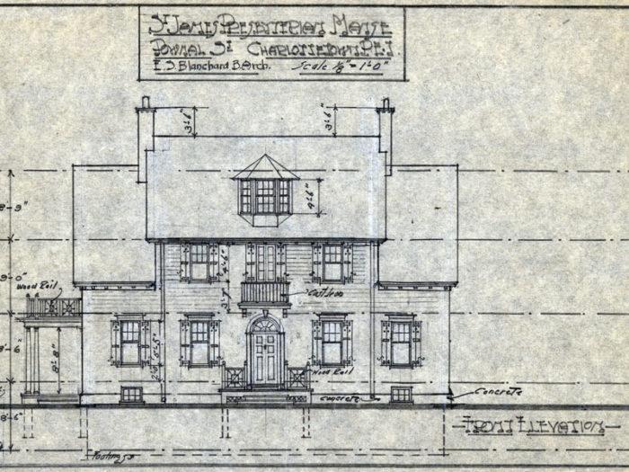 St. James Manse Charlottetown, PEI - 1930